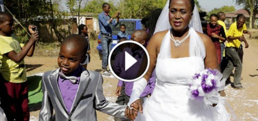 9 year old boy marries
