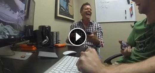 man hacks friends webcam
