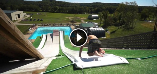 slip`n slide pool party