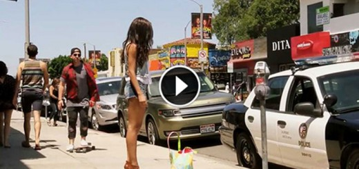 Let's Be Cops Prank