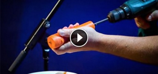 Carrot and a drill instrument