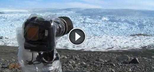 Largest Glacier Calving Ever Filmed