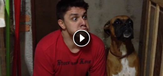 This Guy Imitates His Dog's Every Movement.