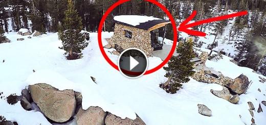 awesome mountain tiny house