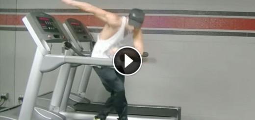 Uptown Funk Treadmill Dance