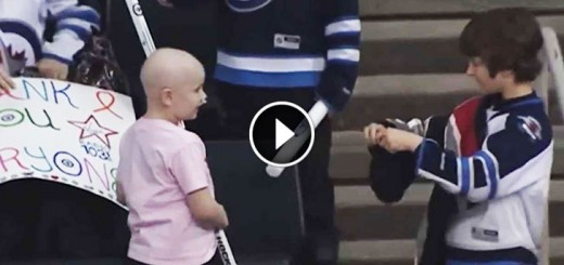 Boy Saw A Sick Girl At A Hockey Game