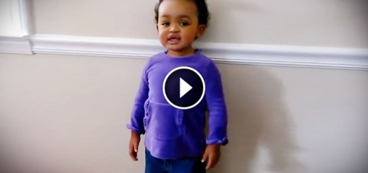 Talented Child Sings Amazing Grace Wow