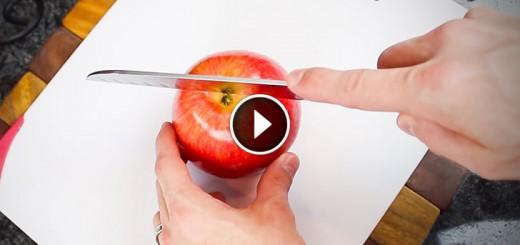 Genius Way Of Cutting Apples
