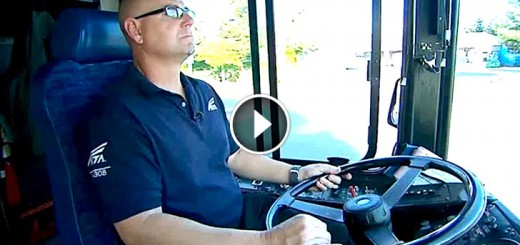 bus driver resque child