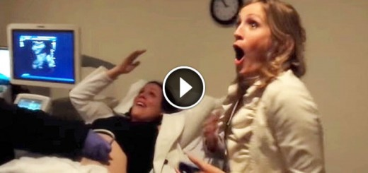 ultrasound sister freaks out