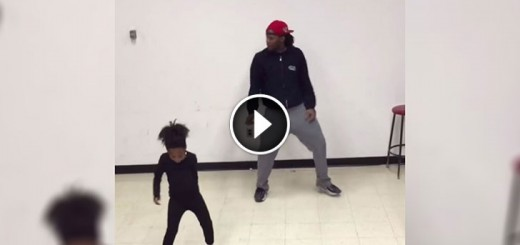 awesome little dancer