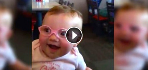 Baby Girl Is Happy To See Clearly For The First Time