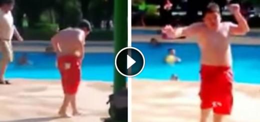 kid dance pool cuban pete