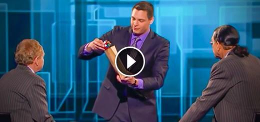 magician rubik cube judges