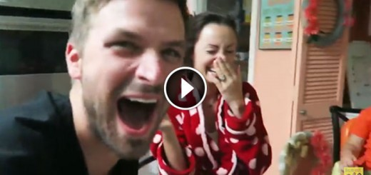 Husband Shocks Wife With Pregnancy Announcement