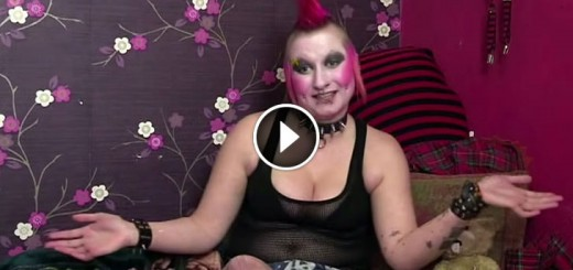 punk girl makeover