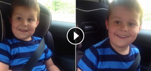 5yr olds reaction to becoming a big brother