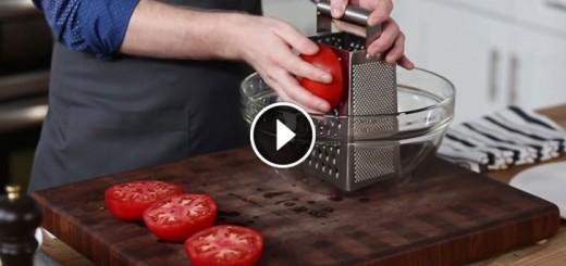 Delicious fresh tomato sauce for pasta