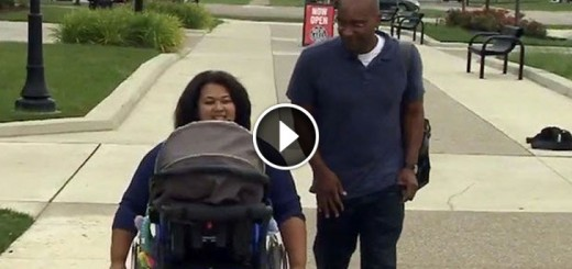 student made wheelchair paraplegic mother