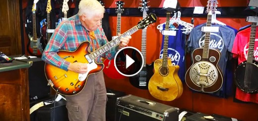 80 yo guitar player