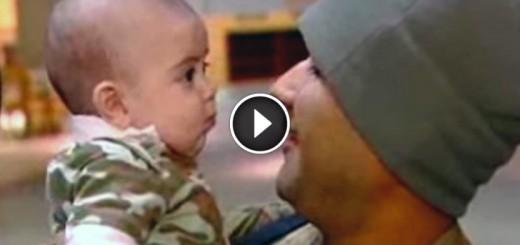 army dad meet son