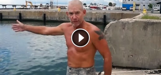 marine trick prevent drowning