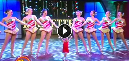 adorable six yo dance rockettes