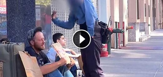 homeless vet vs kid
