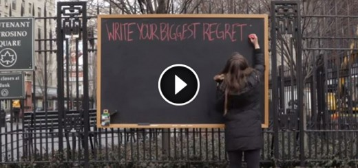 biggest regret nyc blackboard