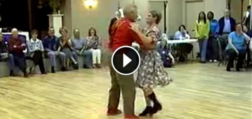 elderly comedy dance