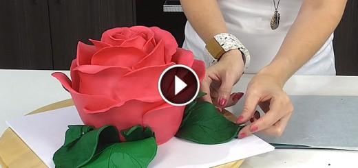 rose cake recepie