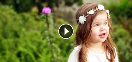 little girl easter song