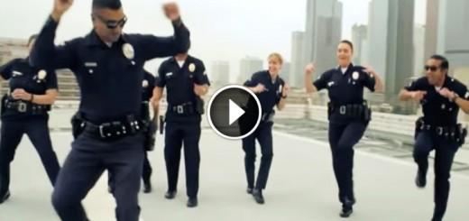 lapd dance running man challenge