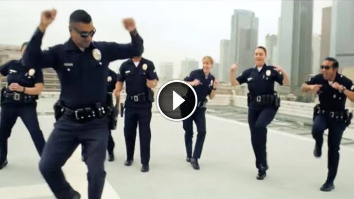 Then Cops Start Dancing On A Roof And The Camera Starts