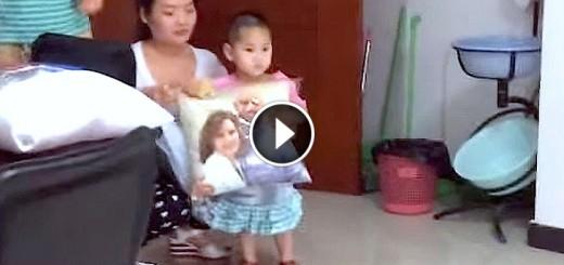 girl china adoption pillow