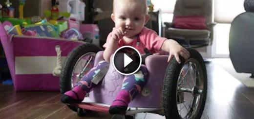 sick daughter custom wheelchair
