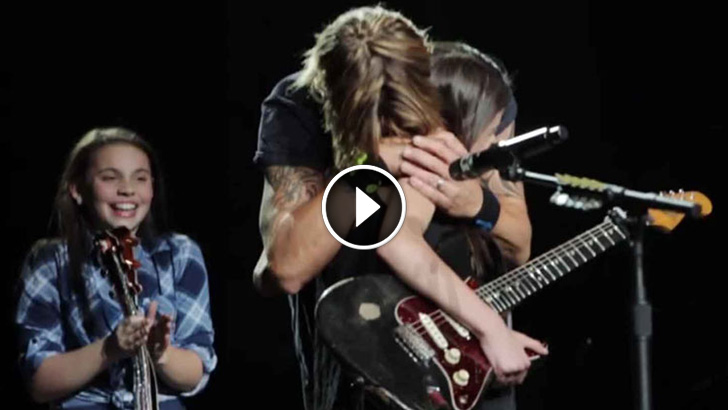 Country Star Keith Urban Calls Girl Onstage And She Amazed