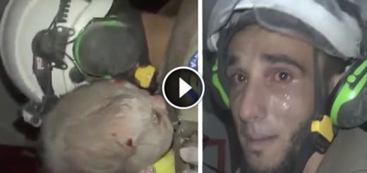 syria baby rescue
