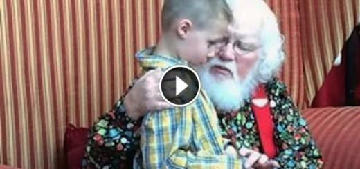 boy santa autism