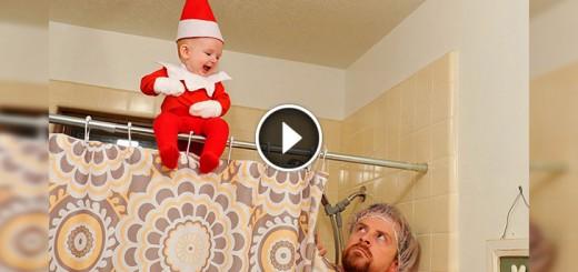 baby boy elf dad